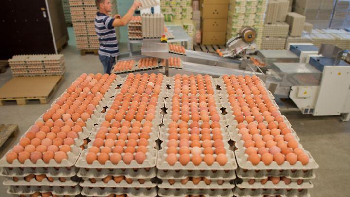 Lieferanten, die mit Abnehmern vereinbart haben, Eier zu festen Preisen zu liefern, müssen sich daran halten.