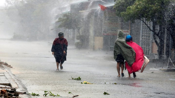 Erst vor einem Monat war Vietnam von einem Taifun heimgesucht worden.