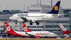 Deal mit Lufthansa steht: Verkaufsprozess von Air Berlin kommt voran