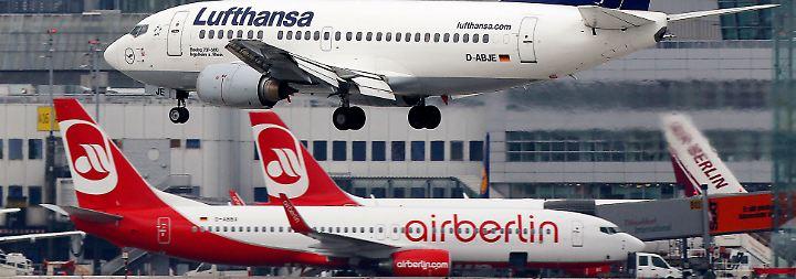 Deal mit Lufthansa steht: Verkaufsprozess von Air Berlin kommt voran - und hakt