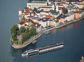 Passau ist nach wie vor eines der beliebtesten Flusskreuzfahrtziele.