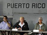 """US-Außengebiet nach """"Maria"""": Trump droht Puerto Rico mit Hilfskürzungen"""