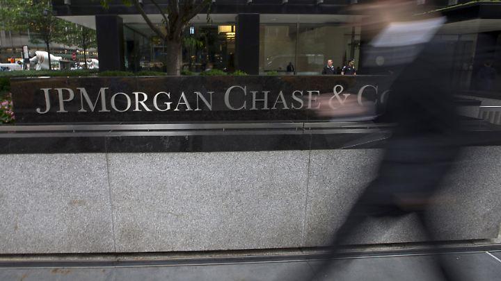 Verdiente mehr Geld im vergangenen Quartal: JPMorgan Chase