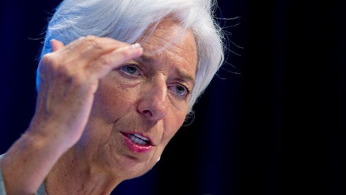 IWF-Chefin Christine Lagarde schließt nicht aus, dass der IWF irgendwann eine eigene Kryptowährung entwickeln könnte.