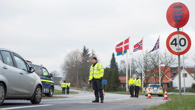 Dänemark will die Kontrollen im Zweifelsfall auch auf See- und Luftgrenzen ausweiten.