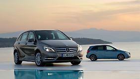 Die Mercedes B-Klasse ist ein Liebling beim TÜV.