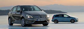 Mit dem Facelift im Jahr 2011 wurde die Mercedes B-Klasse optisch deutlich attraktiver.