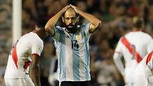 Der Sport-Tag: Argentinier Mascherano kündigt Rücktritt an
