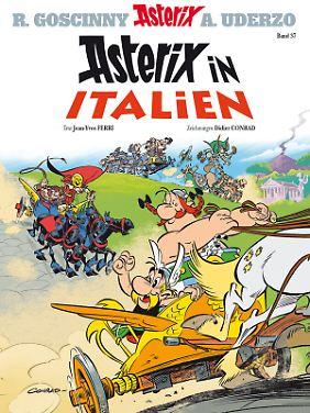 """""""Asterix in Italien"""" ist der 37. Band der Comics."""