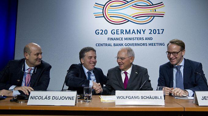 Die G20-Präsidentschaft geht formal am 1. Dezember von Deutschland auf Argentinien über.