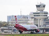 Letzte Landung: Tegel verabschiedet sich von Air Berlin