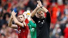 Gut gespielt, danke für den Jubel - aber genützt hat es dem FC Liverpool und Jürgen Klopp nur bedingt.