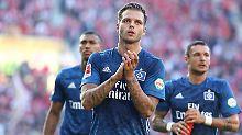 Leerer Blick bei Dennis Diekmeier: Der HSV steckt schon wieder in der Krise.