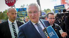 Als Minister nach Berlin: Herrmann findet Mandat nicht so wichtig