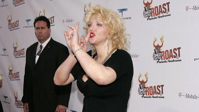 """Sängerin Courtney Love warnte: """"Wenn Harvey Weinstein dich zu einer Privatparty im Four Seasons einlädt, geh nicht hin."""""""