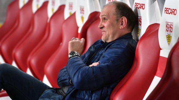 """""""Skurril"""": Kölns Manager Jörg Schmadtke."""