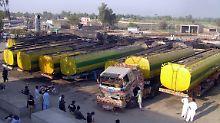 Gratis-Diesel für Afghanistan: Russland unterstützt angeblich Taliban