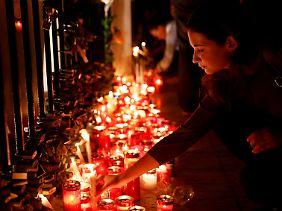 Tausende Menschen trauerten in Malta um die ermordete Journalistin.