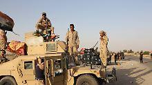Der Tag: Irakische Truppen erobern Stadt Sindschar zurück