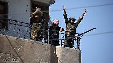 """""""Hauptstadt"""" des Kalifats: Anti-IS-Koalition erobert Rakka zurück"""