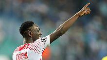 Neuling auf Kurs K.-o.-Runde: RB Leipzig feiert ersten CL-Sieg
