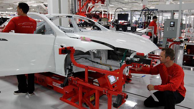 Die Grohmann-Maschinen braucht Tesla, um seine Produktion in den USA auf mehr als eine Millionen Autos pro Jahr hochzufahren.