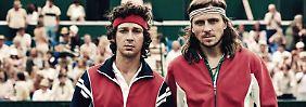 """Wenn der """"Ice-Borg"""" schmilzt: """"Borg/McEnroe"""" entführt nach Wimbledon"""