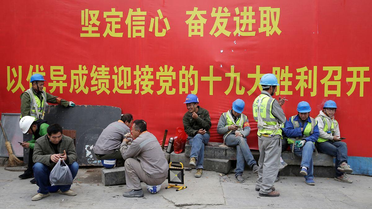China erkauft sich Wachstum durch Schulden