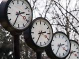 Ende März und Ende Oktober wird die Uhr umgestellt.