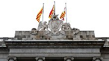 Staatskrise in Spanien: Madrid droht mit Zwangsmaßnahmen