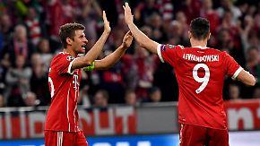"""Stimmen zum Bayern-CL-Spiel: """"Wir könnten noch zwei, drei Tore schießen"""""""
