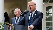Aushebelung der Gesetzgebung: US-Senat treibt Trumps Steuerreform voran