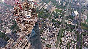 450 Meter soll der Suzhou-Tower in der gleichnamigen chinesischen Metropole hoch werden.