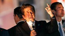 Abe vor der vierten Amtszeit: Japans Ministerpräsident bleibt Hardliner