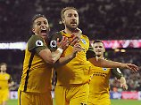 Der Sport-Tag: Groteske Jubel-Panne belustigt Fußball-England