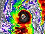 """So präsentierte sich """"Lan"""" auf einem Satellitenbild am 20. Oktober."""