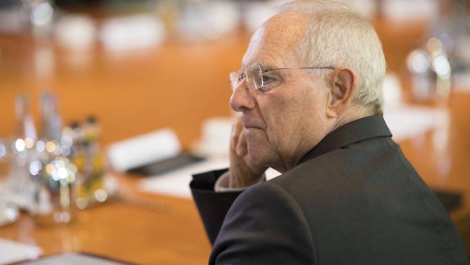 """""""Es hilft, wenn man Zahlen grob überschlagen kann"""" - Bundesfinanzminister Wolfgang Schäuble."""