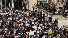 Mord an Journalistin: Tausende Malteser fordern Gerechtigkeit