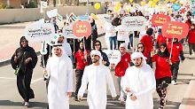 Unmut im Keim ersticken: Glücksbeauftragte für Emirate-Untertanen