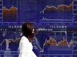 Der Börsen-Tag: Nikkei kann Rekordniveau nicht halten