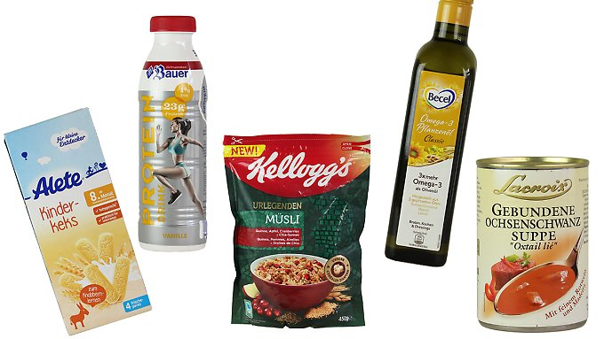 Ein wenig schmeichelhafter Preis - der goldene Windbeutel (Bild-Quelle: Foodwatch).