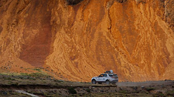 Eine berauschende Farbenwelt erwartete die Experience-Teilnehmer in Peru.
