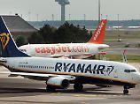 Billigflieger machen Druck: Preise für Flugtickets sinken auf Tiefstand