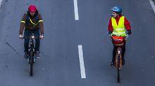 Radfahren im Herbst: Diese Regeln gelten jetzt fürs Fahrradlicht