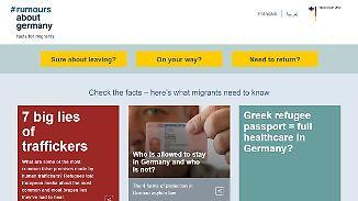 Fakten für Flüchtlinge: Internetseite entlarvt Lügen der Schleuser