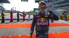 Der Sport-Tag: Kwjat muss Toro-Rosso-Cockpit wieder räumen