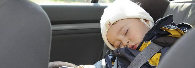 In den meisten Sitzen können die Kinder ganz unbesorgt schlafen.