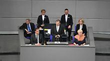 Konstituierende Sitzung: Bundestag lehnt ersten AfD-Antrag ab