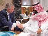 Futuristische Megastadt geplant: Saudi-Arabien baut Wirtschaftszone am Meer