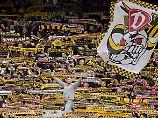 Sie sind überall: Fans der SG Dynamo Dresden.